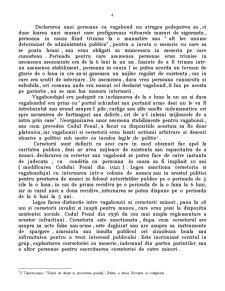 Constitutionalitatea Dispozitiilor din Codul Penal cu Privire la Infractiunile de Prostitutie, Cersetorie si Vagabondaj - Pagina 4
