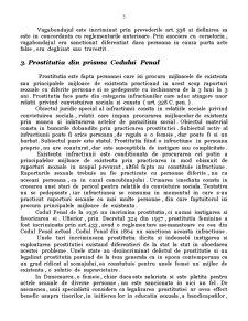 Constitutionalitatea Dispozitiilor din Codul Penal cu Privire la Infractiunile de Prostitutie, Cersetorie si Vagabondaj - Pagina 5