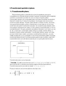 Transformari Spatiale si Plane - Pagina 1