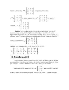 Transformari Spatiale si Plane - Pagina 4