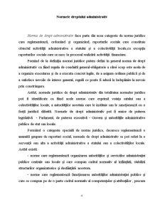 Notiunea, Normele și Izvoarele Dreptului Administrativ - Pagina 4