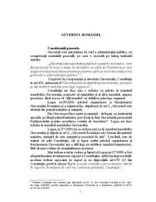 Guvernul României - Pagina 1