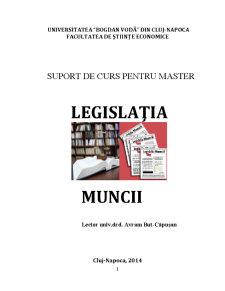 Legislația Muncii - Pagina 1