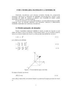 Modelarea Sistemelor Mecatronice - Pagina 1