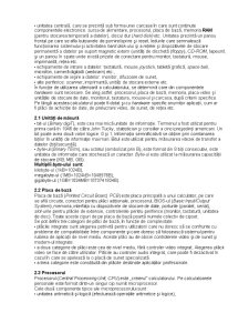 Descrierea Calculatorului - Pagina 2