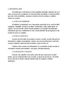 Transportul Apei în Corpul Plantei - Pagina 3