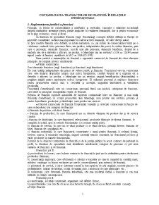Contabilitatea Tranzactiilor de Franciza in Relatiile Internationale - Pagina 1