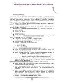 Inginerie in Acvacultura - Pagina 1