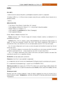 Procedura Civila NCPC - Pagina 1