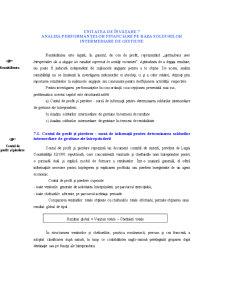 Analiza Performanțelor Financiare pe Baza Soldurilor Intermediare de Gestiune - Pagina 1