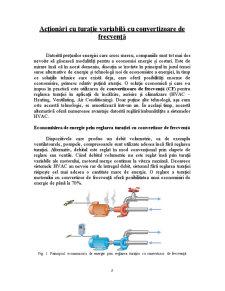 Acționări cu Turație Variabilă cu Convertizoare de Frecvență - Pagina 2