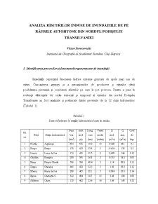 Analiza Riscurilor de Inundatii - Pagina 1