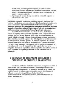 Conceptul de Asigurare si Functiile Acesteia - Pagina 3