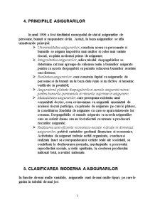 Conceptul de Asigurare si Functiile Acesteia - Pagina 5