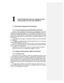 Probleme Energetice Generale ale Instalatiilor Electrotermice - Pagina 1