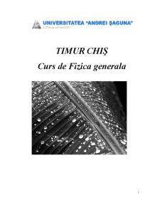 Fizica Generala - Pagina 1
