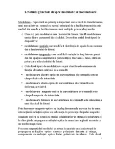 Modulatoarele Magneto-Optice - Pagina 1
