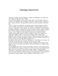 Tehnologia Obtinerii Berii - Pagina 1