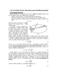 Gravitatia, Mareele, Alunecarile pe Pante Sub Influenta Gravitatiei - Pagina 1