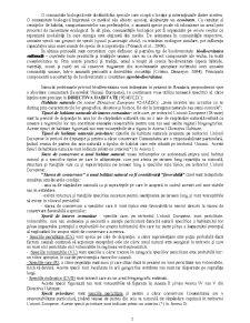 Conservarea Biodiversității - Pagina 2