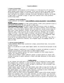 Cauze Justificative - Drept Penal - Partea Generala - Pagina 1