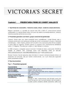 Analiza Site-ului Victoria's Secret - Pagina 1