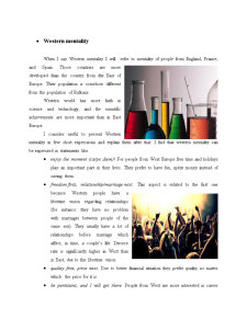 Western vs Eastern Mentality - Pagina 5
