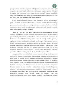 Analiza Potentialului Companiei Starbucks - Pagina 3