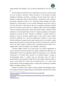 Analiza Potentialului Companiei Starbucks - Pagina 4