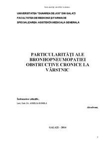 Particularitati ale Bronhopneumopatiei Obstructive Cronice la Varstnici - Pagina 2