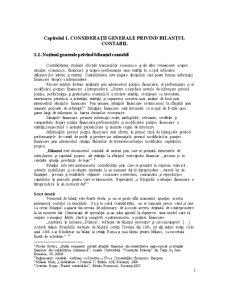 Bilantul si Pozitia Financiara a Intreprinderii - Abordarea Comparativa a Diferitelor Modele de Bilant - Pagina 5