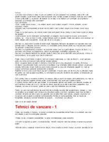 Tehnici de Vanzare - Pagina 2
