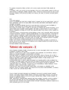 Tehnici de Vanzare - Pagina 4