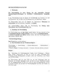 Curs Analiza Financiara - Valoarea Adaugata - Pagina 1