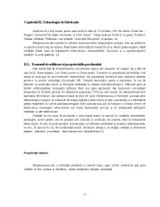 Tehnologia de Obtinere a Streptomicinei - Pagina 3