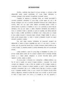 Metafora la Lucian Blaga - Pagina 2