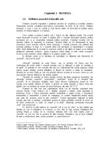 Monedă și Credit - Pagina 1