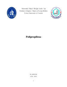 Polipropilena - Pagina 1