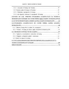 Leasingul, tehnica moderna de vanzare - Pagina 3