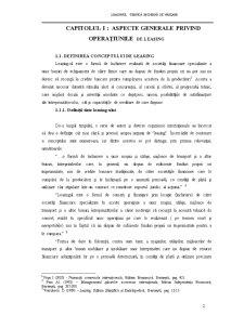 Leasingul, tehnica moderna de vanzare - Pagina 5