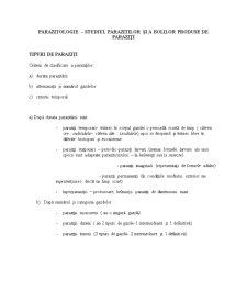 Parazitologie - Pagina 1