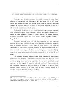 Antreprenoriatul și Dreptul de Proprietate Intelectuală - Pagina 1