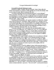 Concepte fundamentale ale ontologiei - Pagina 1