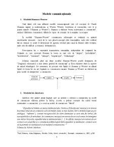 Modele comunicationale - Bariere in comunicare - Pagina 5