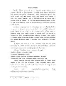 Fenomenologia infractiunilor de coruptie in Republia Moldova - Pagina 3