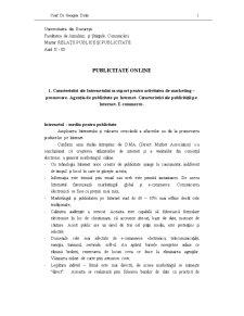 Publicitate și PR Online 1 - Pagina 1