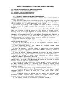 Documentația ca element a al metodei contabilitatii - Pagina 1