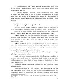 Nulitatea actului juridic civil - Specificul acestei sanctiunii - Pagina 4