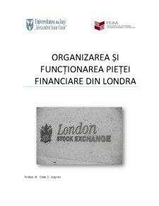 Organizarea și funcționarea pieței financiare din Londra - Pagina 1