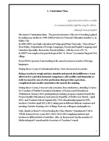 Raport de activitate a profesorului - Pagina 1